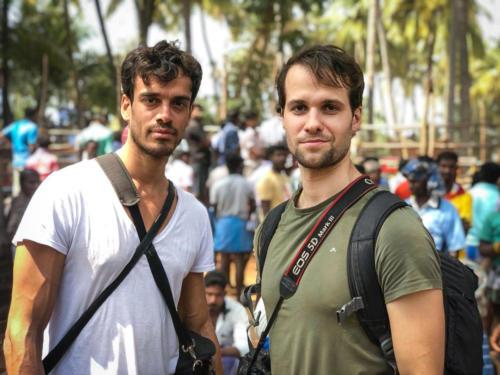 In India with Michel Koljin for the Jallikattu story