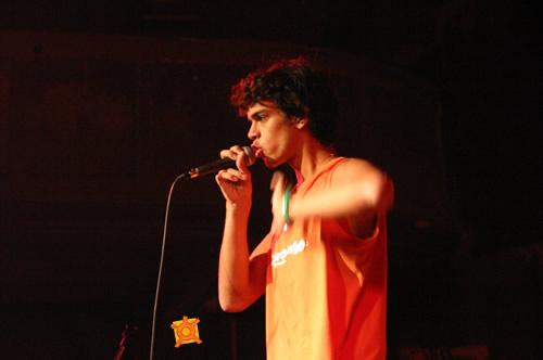 Poetry performance